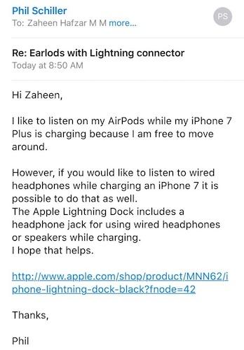 Appleのフィル・シラーの声明