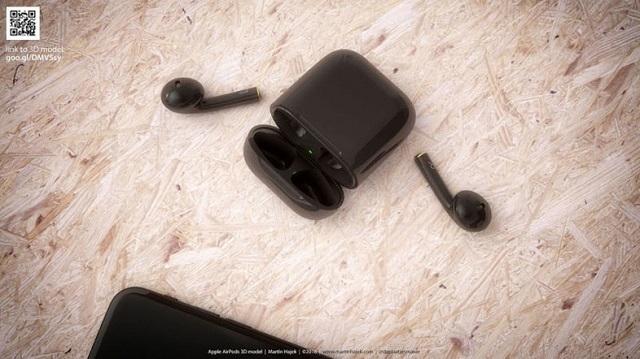 1 AirPodsに黒があればこんな感じですね(コンセプト画像)2