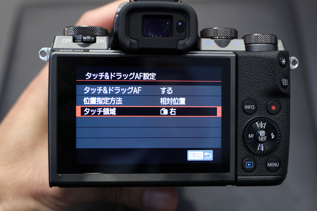 キヤノン「EOS M5」ハンズオン! タッチ&ドラッグAFの衝撃。デジタル一眼レフとの距離を大幅に縮めた2