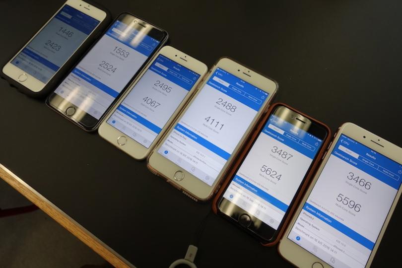 速いぞ! iPhone 7/7 Plusを過去機種とベンチマーク競争