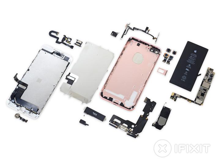 進化は形に現れる。iPhone 7 Plus、ぜーんぶ分解したレポートが公開