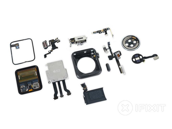 GPSを搭載したApple Watch Series 2、iFixitによる全バラシレポートが公開