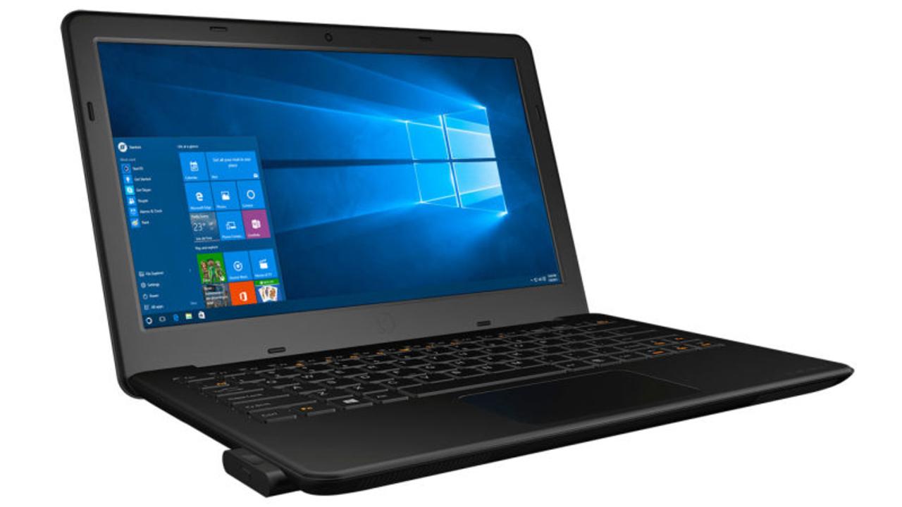1つのPCに2つのWindows 10を取っかえ引っかえできるニッチな「Kangaroo Notebook」