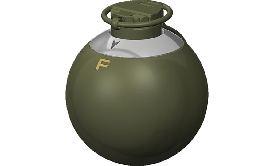 攻撃型にする? それとも破片型…? スイッチで攻撃の種類が選べる手榴弾「ET-MP」
