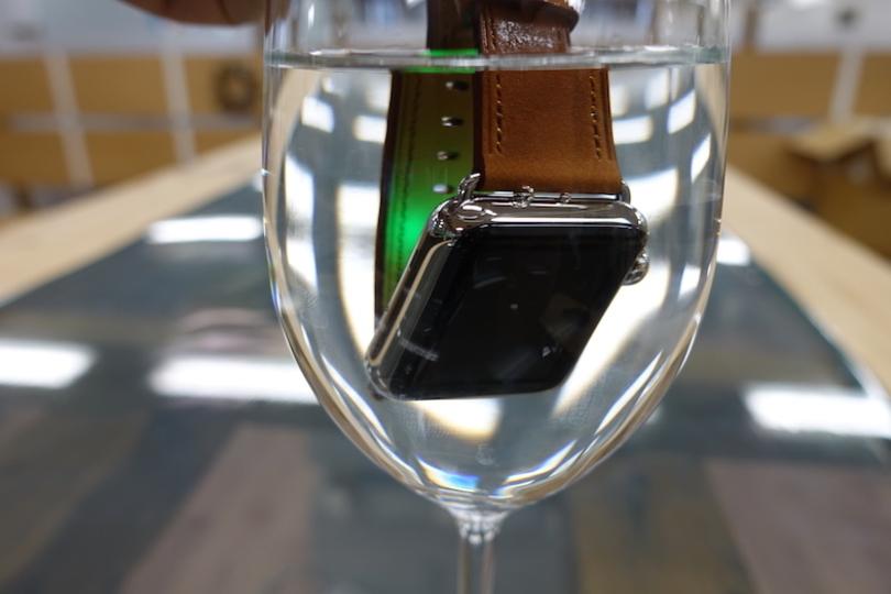 Apple Watch Series 2の「プールスイミング」を水につけて試してみる