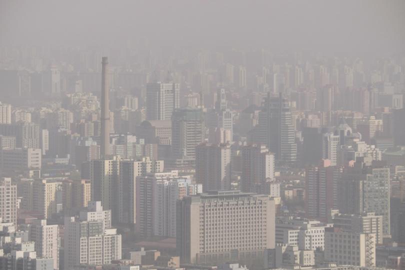 世界の9割以上の人々は、汚染された空気を吸って生活している