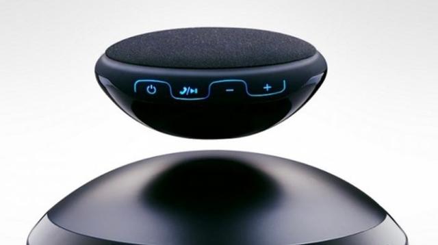 ギズモード読者限定で10%OFF! 宙に浮いちゃってる黒いスピーカー「Air Speaker2」