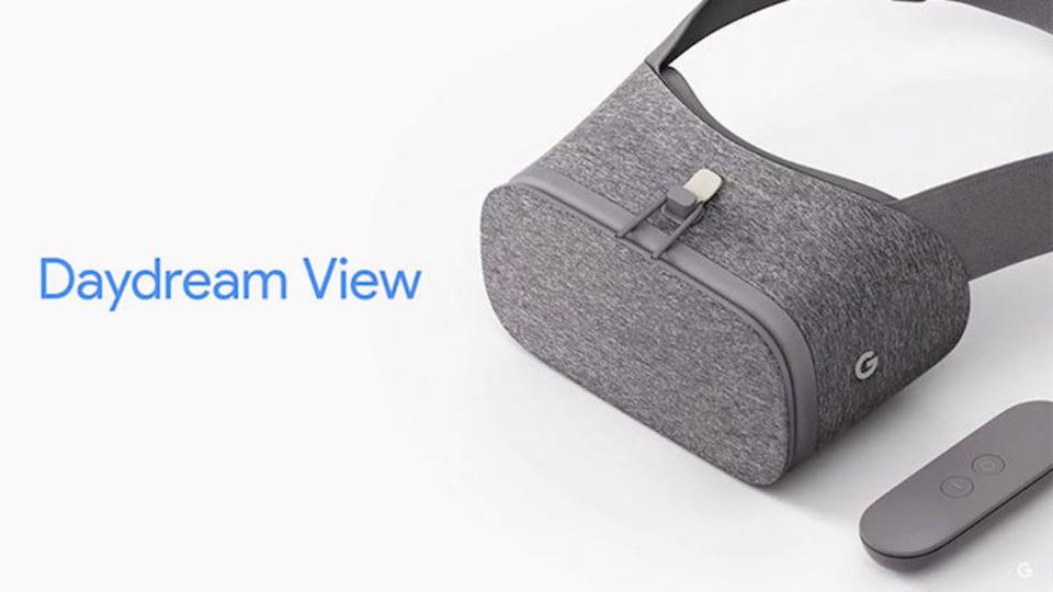 GoogleのVRヘッドセット「Daydream View」発表。スマホ用なのにコントローラーもある!