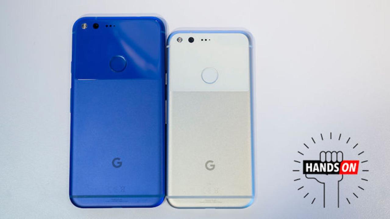 Googleスマホ「Pixel」ハンズオン。外見は普通でも中身はすごい
