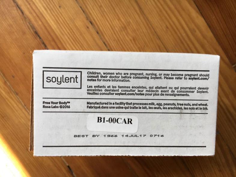 ソイレント 1