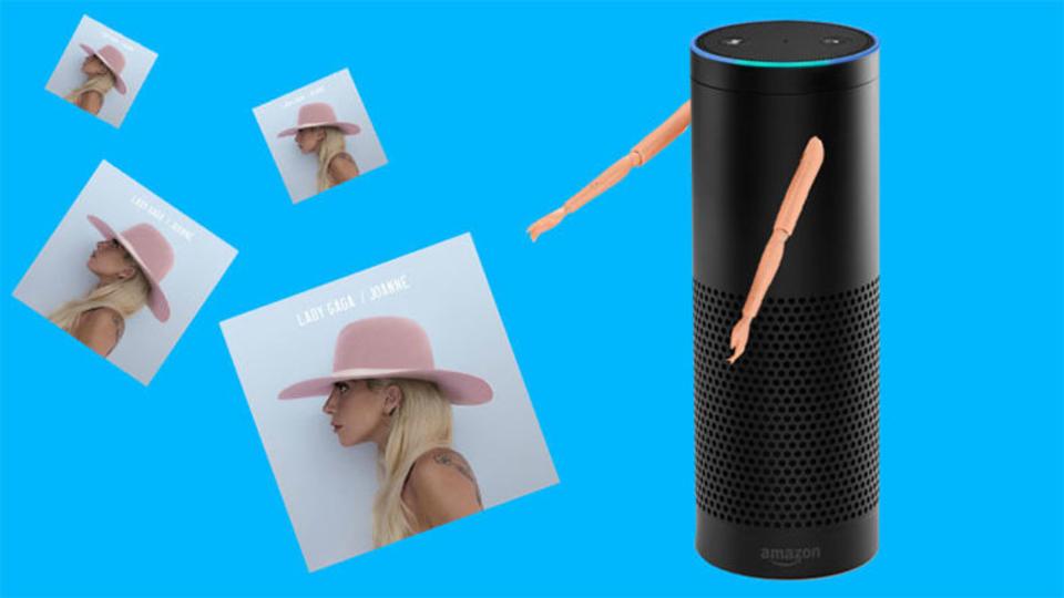 Amazon Echo、レディー・ガガの最新アルバムをリークする