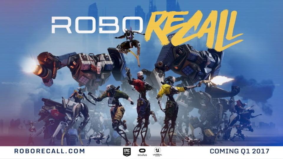 反逆ロボを撃ちまくる! 爽快VRシューティング「ロボ・リコール」のトレイラーが公開