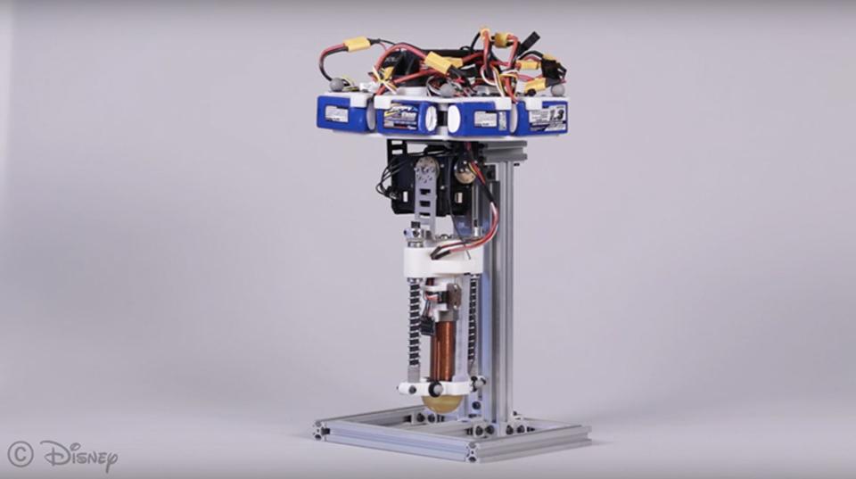 ディズニーが新開発した一本脚ロボットは、ティガ―みたいにぴょんぴょん跳ねる