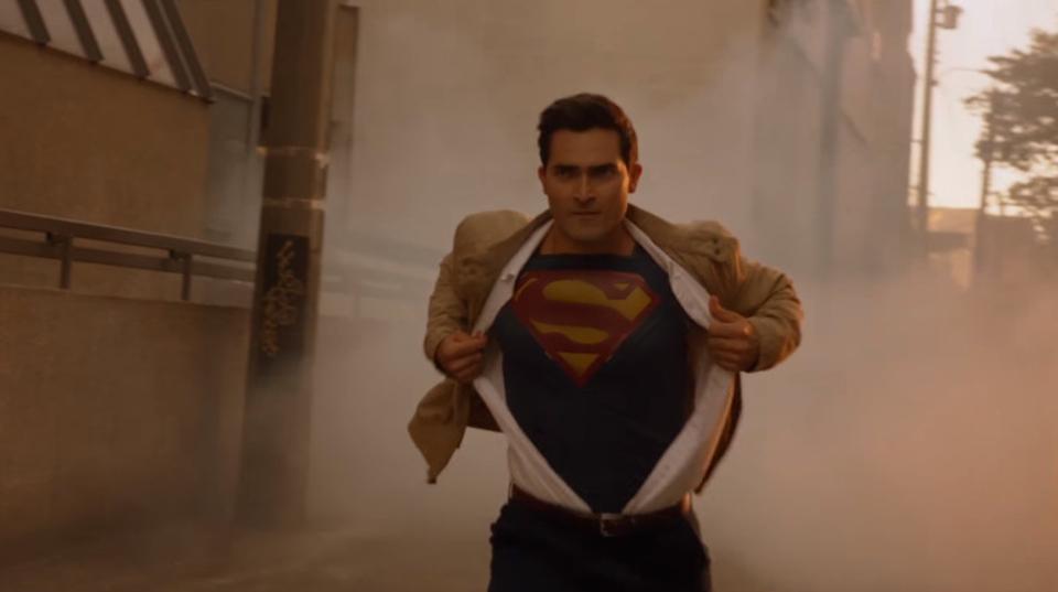 キュートなヒーロー・ドラマ「スーパーガール」についにスーパーマンが登場!