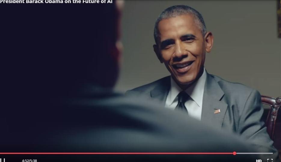 オバマ大統領がAI未来戦略発表。テクノ失業、ベーシックインカム、マトリックスの卵など語る