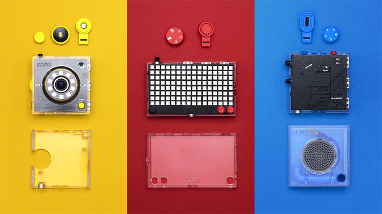 カメラやスピーカーを組み立て、コードも学べる「Kano」が楽しそう!