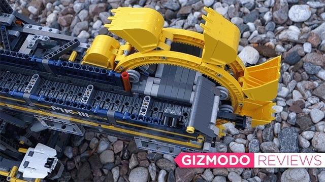 生半可な覚悟じゃ無理。LEGO史上もっとも複雑な「バケット掘削機」組み立てレビュー
