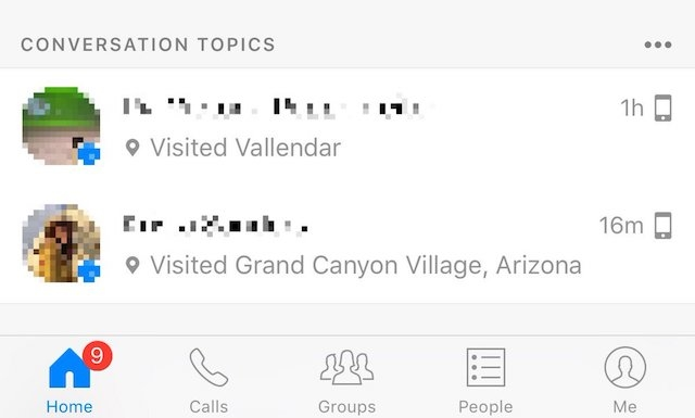 Facebookのメッセンジャーアプリに「話のネタ」を教えてくれる機能は必要?