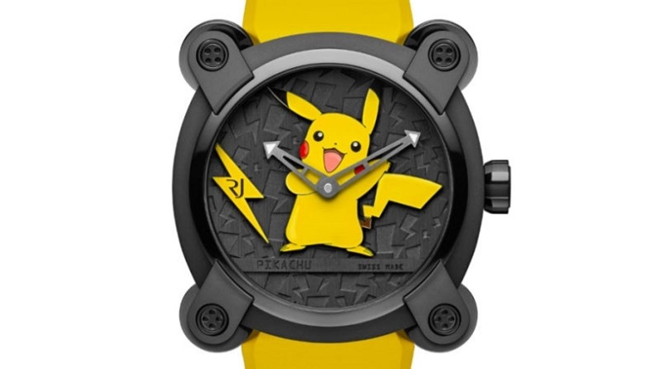 スイスの高級時計メーカーが作った本気のポケモン・ウォッチ。お値段200