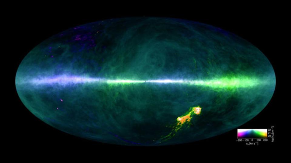 宇宙の謎にせまる1枚の地図。史上最高の「水素マップ」