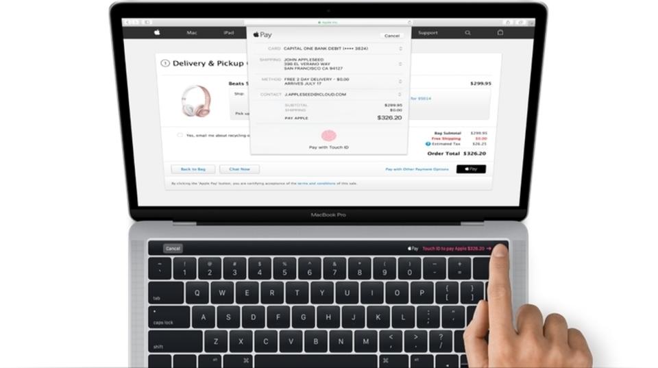 これが最新MacBook Proの姿だ。macOS Sierraアップデートに発見