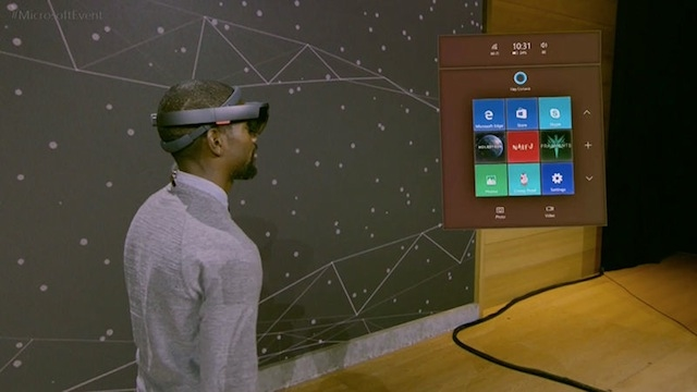Windows Creators Update Edge 3D HoloLens 1