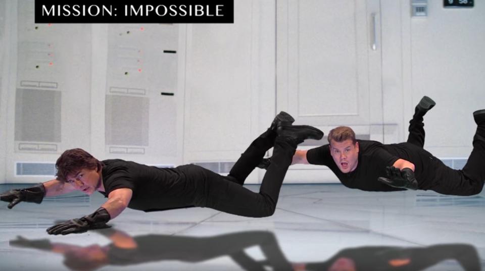 トム・クルーズが自分の出演作を一気に9分間で再演!