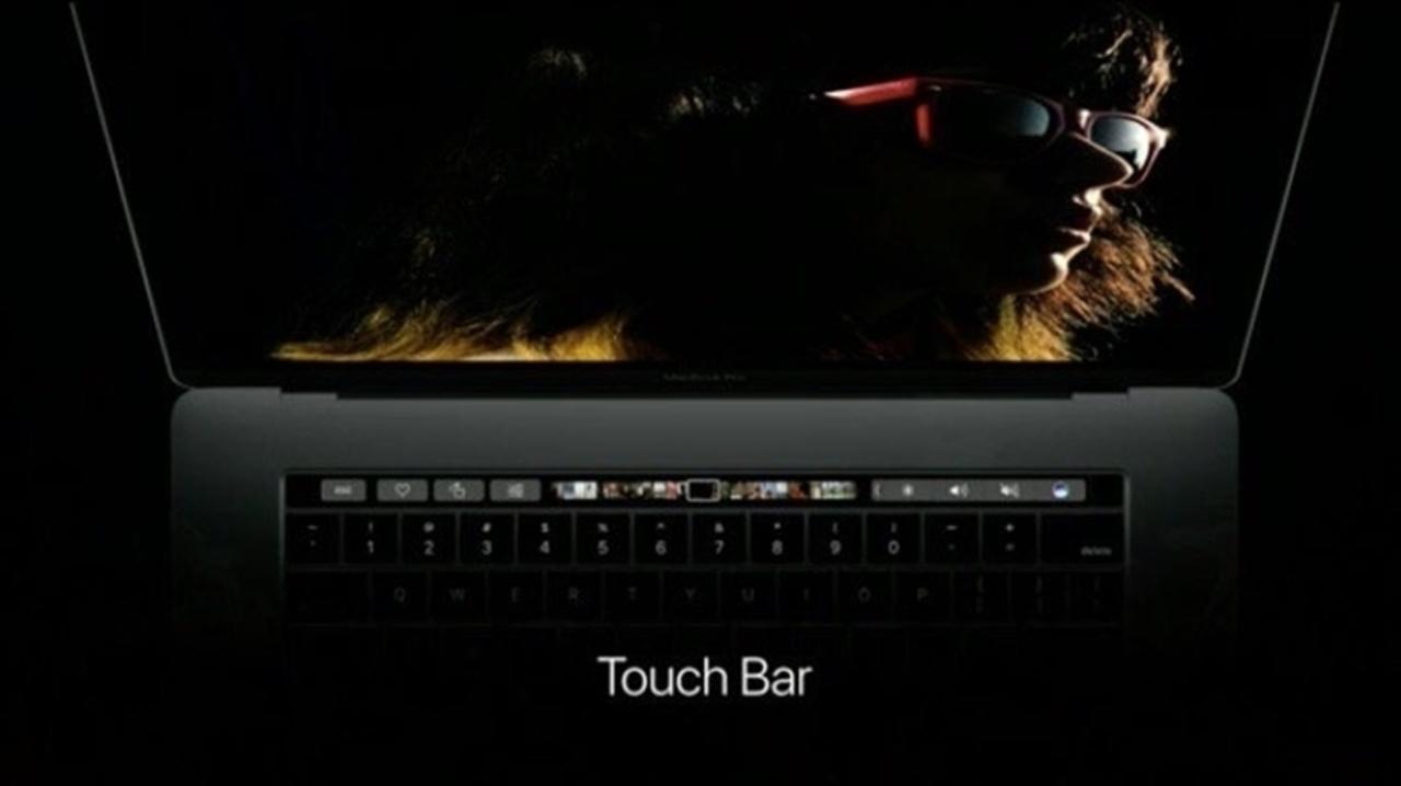 MacBook ProにTouch Barがやってきた! これは漲る!!