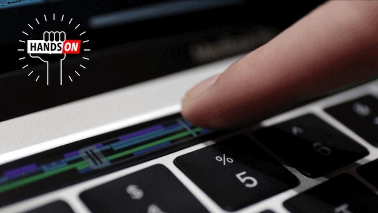 Touch Barにタッチ。新MacBook Proハンズオン