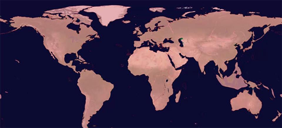 120年前までは人類未踏の地。地球上で最後に発見された場所はどこ?