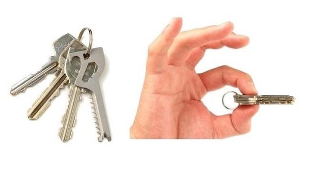 鍵はこう進化した。6 in 1の鍵型便利ツール「Key-Quest」