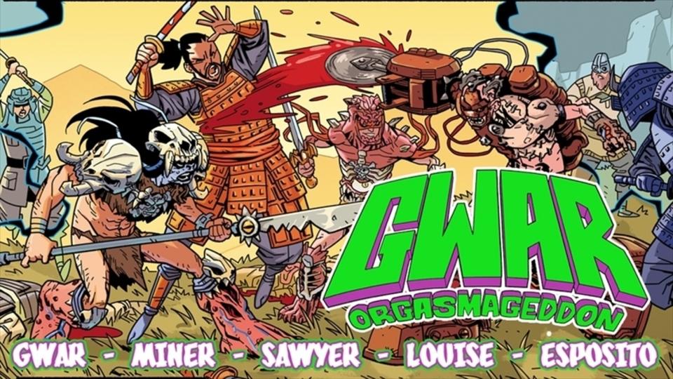 宇宙人ヘヴィメタルバンドのGWARがコミック化に向けて資金を募集中