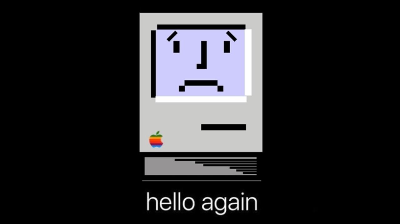 その前進はひとつの音も消し去った。さらば、Macの起動音