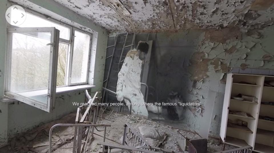 VRで見る、チェルノブイリの今。360度のメイキング動画が公開されました