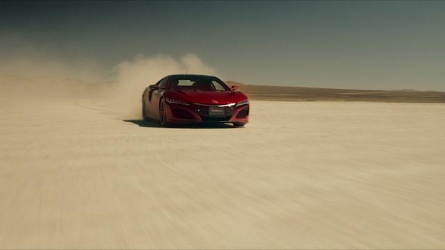 新生NSXがアメリカで「ナスカの地上絵」を描く!? その走りを目撃せよ