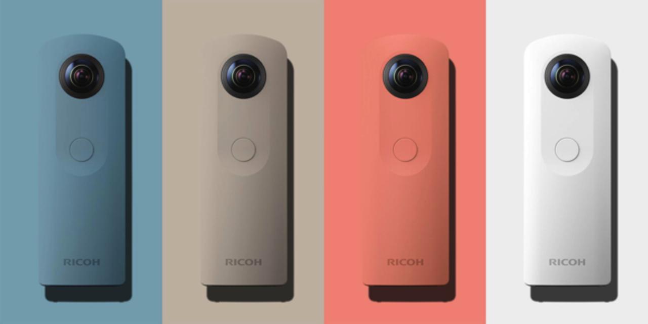 リコーが新型360°カメラ「THETA SC」を発表