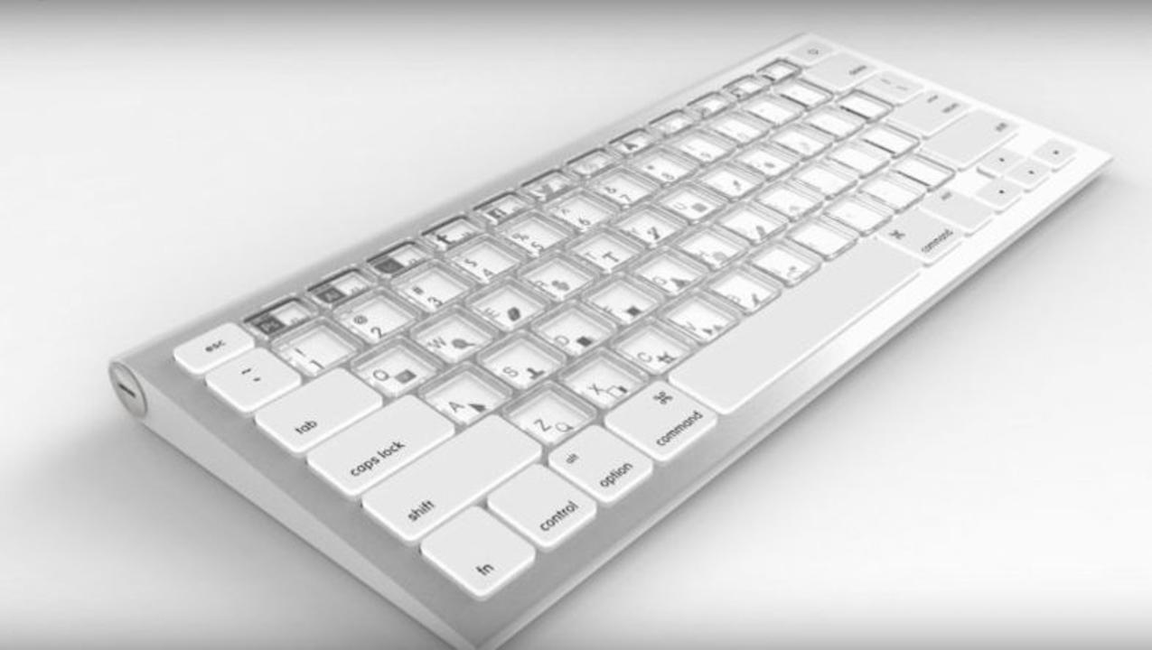 Appleが「eインク」でキー配置を自由に変えられるキーボードを開発中か