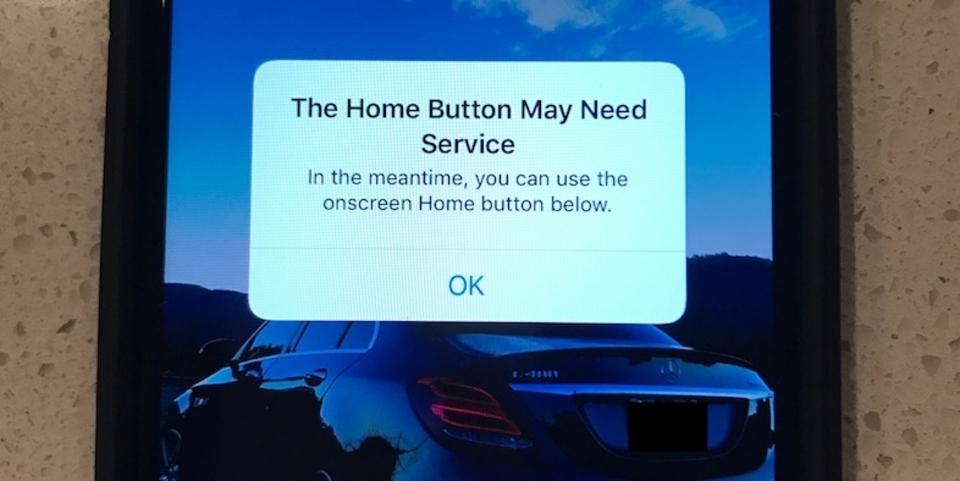 iPhone 7のセンサー式ホームボタンが壊れたらどうなる?→仮想ホームボタンが出現!