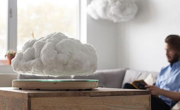 「浮く」シリーズ真打ち登場。浮く雲形スピーカー「Floating Cloud」