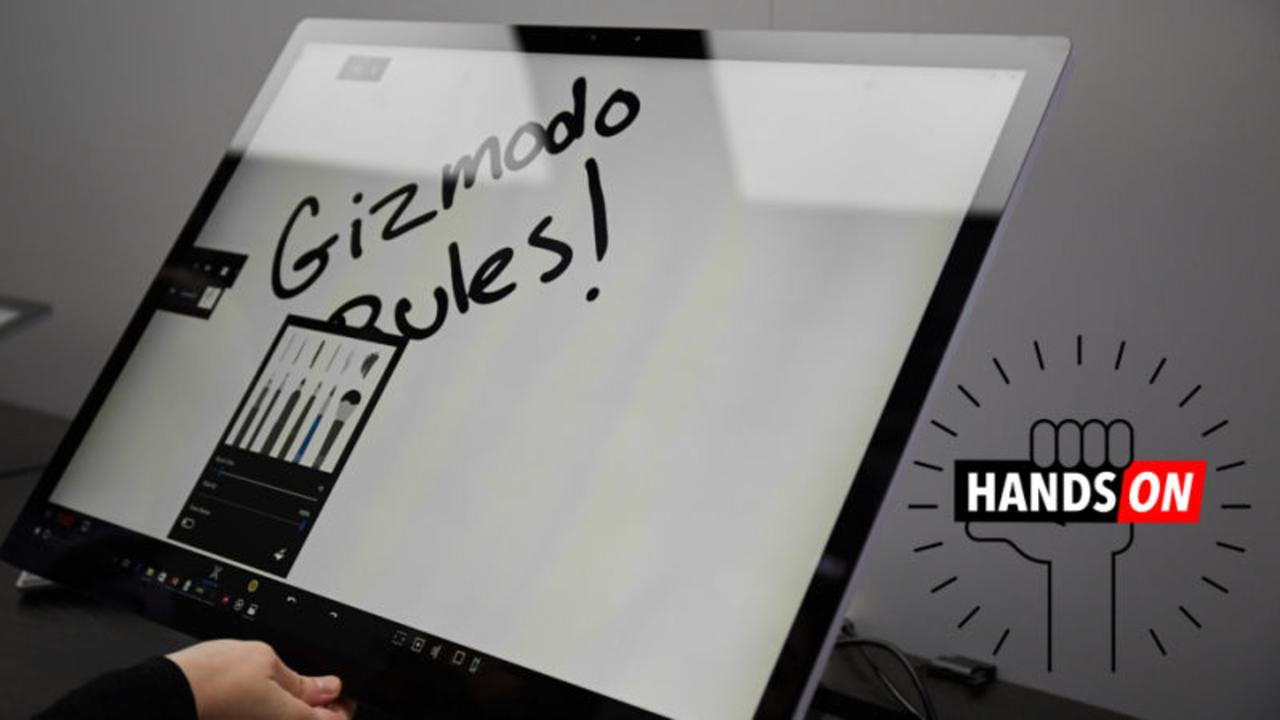 「Surface Studio」ハンズオンレビュー:試して分かるその価値