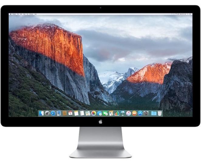 Apple、純正ディスプレイの開発をやめるみたい