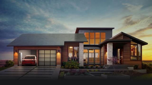 これが未来の家か。Tesla、発電できる「ソーラールーフ」を発表