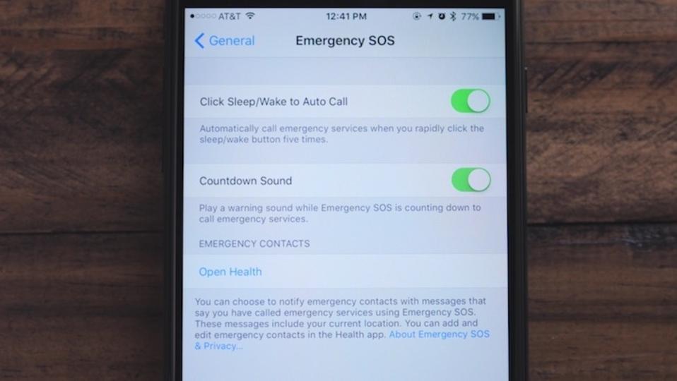 iOS 10.2 ベータ版に「SOS機能」が登場