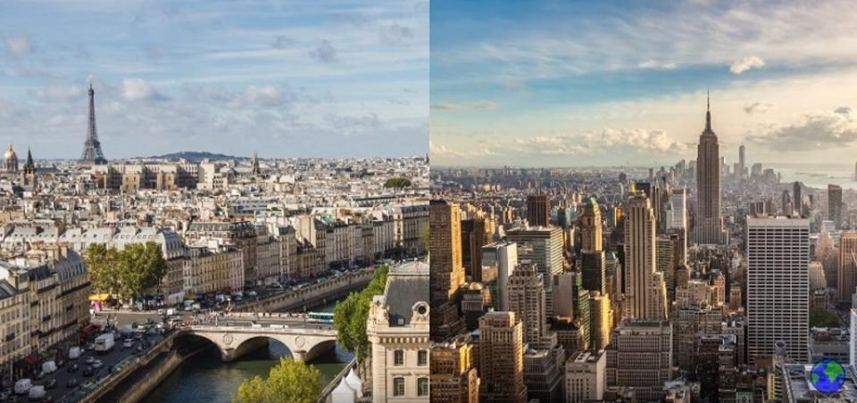 アメリカとヨーロッパの街並みが異なる理由