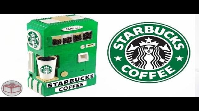 LEGOが淹れるスタバのコーヒーはいかが?