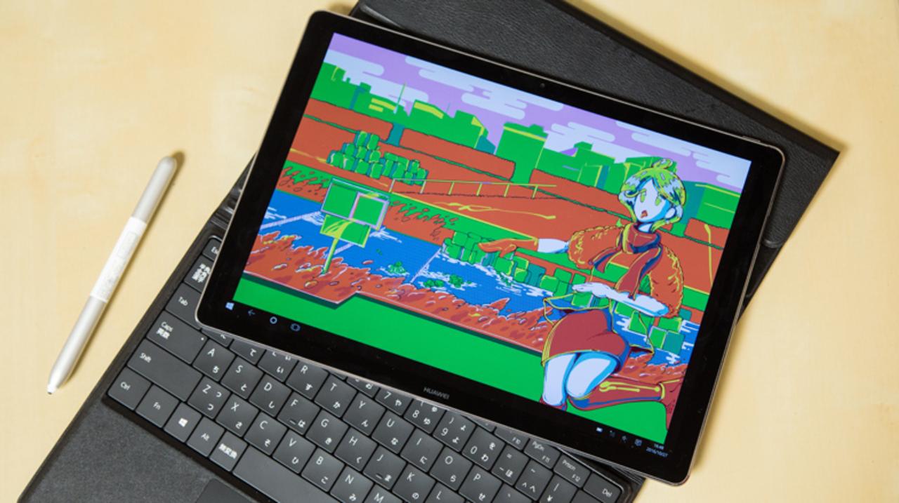 プロのイラストレーターが実戦投入。フルWindowsが持ち歩けるMateBookは「本当に便利でした」