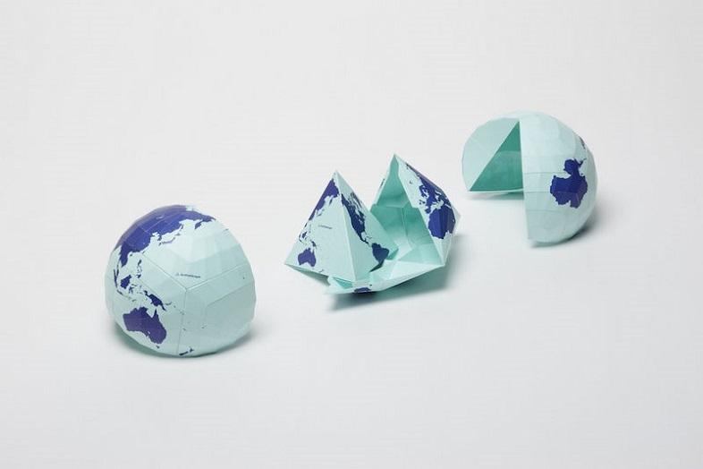 世界の見方を変える地図、オーサグラフ世界地図2