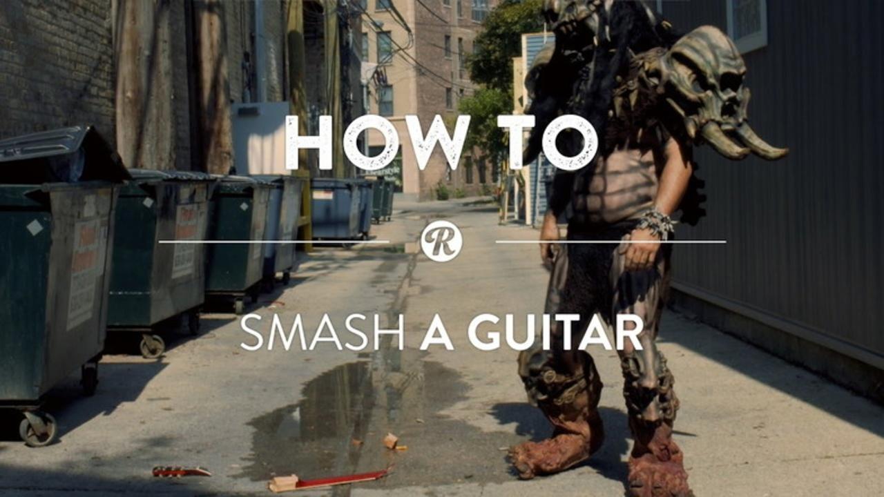 GWAR直伝!華麗にギターを破壊する方法あれこれ