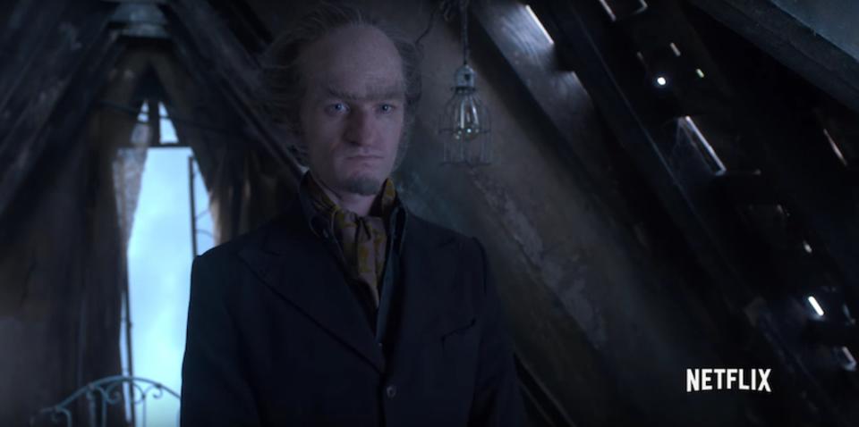 ドラマ『レモニー・スニケットの世にも不幸なできごと』ティザーにオラフ伯爵が登場