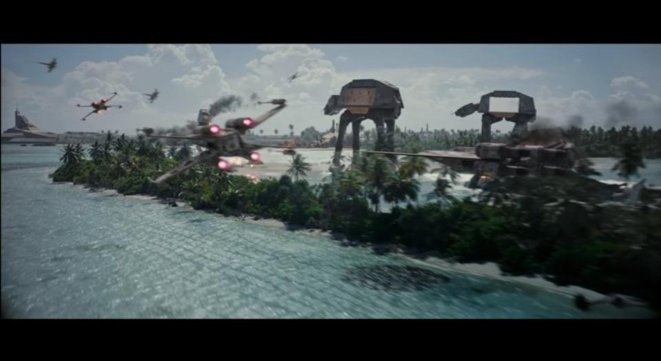 反乱軍が集結する映画『ローグ・ワン/スター・ウォーズ・ストーリー』のTVスポットが公開